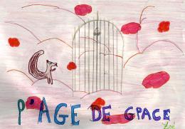 photo 36/43 - Dessin de Zoé (Elève de CM1a, école Littré de Paris 6ème) - L'âge de glace 2 - © Commeaucinema.com 2006