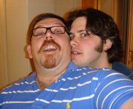 Edgar Wright Avec Nick Frost pour la sortie de Hot Fuzz photo 8 sur 12
