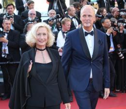 Brigitte Fossey Cannes 2017 Clôture Tapis photo 2 sur 12