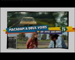 photo 2/3 - Menu Dvd - Macadam à deux voies - © Cipa