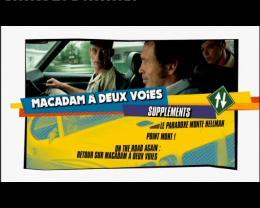 Macadam à deux voies Menu Dvd photo 3 sur 3