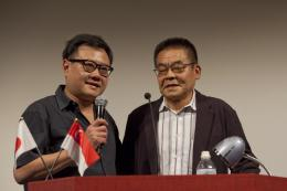 Eric Khoo Avec Yoshihiro Tatsumi photo 3 sur 3