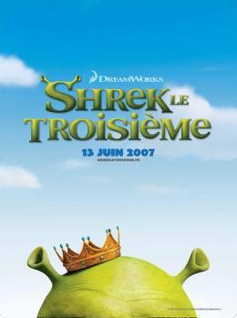 photo 26/112 - Affiche Teaser française - Shrek Le troisième - © Paramount