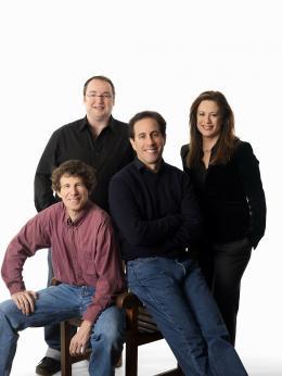 photo 120/217 - Steve Hickner, Simon J. Smith, Jerry Seinfeld, Christina Steinberg - Bee Movie - Drôle d'Abeille - © Paramount