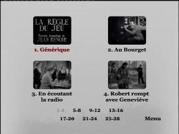 photo 12/14 - Menu Dvd - La Règle du jeu