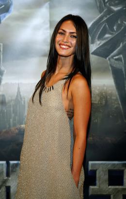 photo 56/77 - Megan Fox - Conf�rence de presse � S�oul - Transformers - © Paramount