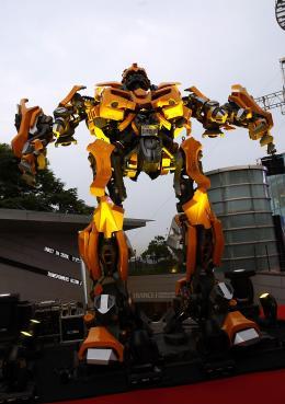 photo 74/77 - Conférence de presse à Séoul - Transformers - © Paramount