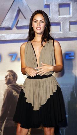 photo 72/77 - Megan Fox - Conférence de presse à Séoul - Transformers - © Paramount