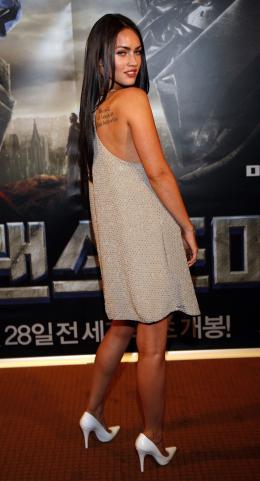 photo 48/77 - Megan Fox - Conf�rence de presse � S�oul - Transformers - © Paramount