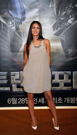 photo 49/77 - Megan Fox - Conférence de presse à Séoul - Transformers - © Paramount