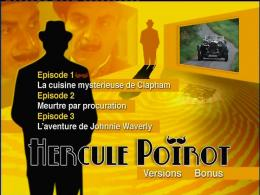 photo 2/3 - Menu Dvd - Hercule Poirot - Saison 1