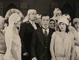 photo 7/17 - Buster Keaton et Ruth Dwyer - Les Fiancées En Folie - © Splendor Films