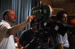 Alain Berliner Sur le tournage de J'aurais voulu être un danseur photo 2 sur 2