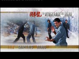 photo 1/2 - Menu Dvd - La vengeance du tigre