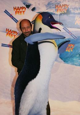 photo 46/75 - Kad Merad - Avant-première à Paris (novembre 2006) - Happy Feet - © Isabelle Vautier pour Commeaucinema.com