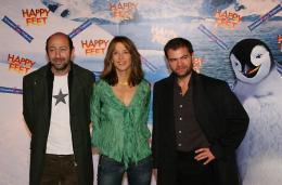 photo 62/75 - Kad Merad, Sophie Marceau & Clovis Cornillac - Avant-premi�re � Paris (novembre 2006) - Happy Feet - © Isabelle Vautier pour Commeaucinema.com