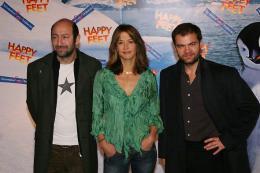 photo 63/75 - Kad Merad, Sophie Marceau & Clovis Cornillac - Avant-premi�re � Paris (novembre 2006) - Happy Feet - © Isabelle Vautier pour Commeaucinema.com