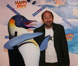 photo 48/75 - Kad Merad - Avant-premi�re � Paris (novembre 2006) - Happy Feet - © Isabelle Vautier pour Commeaucinema.com
