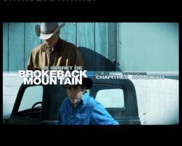 photo 22/23 - Menu Dvd - Le Secret de Brokeback Mountain - © Fox Pathé Europa
