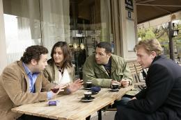 photo 10/19 - Patrick Mille, Olivia Bonamy, Cartouche et Guillaume Depardieu - Célibataires - © BAC Films
