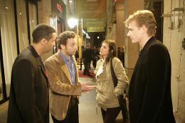 photo 8/19 - Patrick Mille, Olivia Bonamy, Cartouche et Guillaume Depardieu - Célibataires - © BAC Films