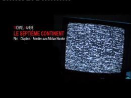 Le Septième Continent Menu Dvd photo 1 sur 2