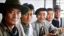 photo 8/11 - Tsutomu Yamazaki, Ken Watanabe, Rikiya Yasuoka - Tampopo - © Films sans Frontières