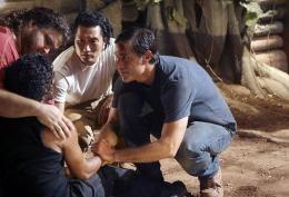 photo 46/65 - Matthew Fox, Daniel Dae Kim, Jorge Garcia, Naveen Andrew - Saison 6 - Lost - Saison 6 - © ABC