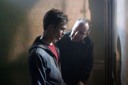 photo 59/127 - Daniel Radcliffe et le réalisateur David Yates - Harry Potter et l'ordre du Phénix - © Warner Bros