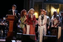 photo 7/22 - Meryl Streep, Lily Tomlin, Lindsay Lohan et Garrison Keillor - The Last Show - A Prairie Home Companion - © BAC Films