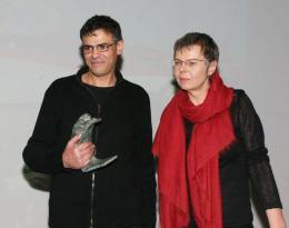 Pascale Ferran C�r�monie des Lumi�res 2008 - Paris photo 6 sur 8