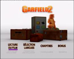 photo 29/30 - Menu Dvd - Garfield 2 - © 20th Century Fox