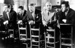 photo 11/13 - Lino Ventura, Francis Blanche, Robert Dalban, Bernard Blier, Jean Lefebvre - Les Tontons Flingueurs