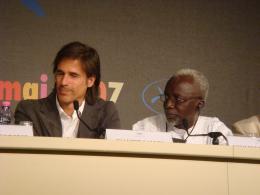 Souleymane Cissé Cannes 2007 photo 3 sur 5