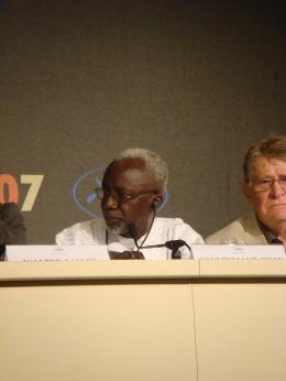 Souleymane Cissé Cannes 2007 photo 2 sur 5
