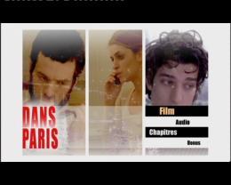 Dans Paris Menu Dvd photo 9 sur 10