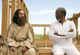 Evan Tout Puissant Steve Carell et Morgan Freeman photo 3 sur 54