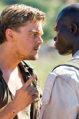 photo 28/37 - Leonardo Dicaprio et Djimon Hounsou - Blood Diamond - © Warner Bros