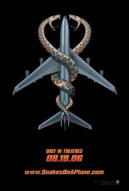 Des serpents dans l'avion Affiche originale photo 8 sur 9