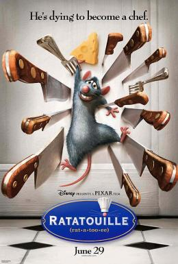 photo 50/122 - Affiche us - Ratatouille - © BVI
