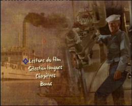 photo 1/7 - Menu dvd - La Canonnière du Yang-Tsé - © Fox Pathé Europa