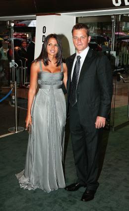 photo 64/133 - Matt Damon et son invit�e - Avant-Premi�re � Londres, le 15 ao�t 2007 - La Vengeance dans la Peau - © Paramount