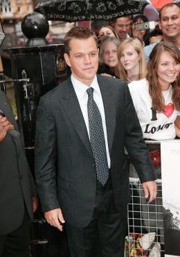 photo 57/133 - Matt Damon - Avant-Premi�re � Londres, le 15 ao�t 2007 - La Vengeance dans la Peau - © Paramount