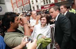 photo 52/133 - Matt Damon - Avant-Premi�re � Londres, le 15 ao�t 2007 - La Vengeance dans la Peau - © Paramount