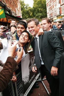 photo 50/133 - Matt Damon - Avant-Premi�re � Londres, le 15 ao�t 2007 - La Vengeance dans la Peau - © Paramount