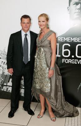 photo 63/133 - Matt Damon et Joan Allen - Avant-Premi�re � Londres, le 15 ao�t 2007 - La Vengeance dans la Peau - © Paramount