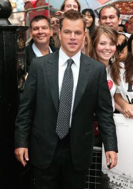 photo 56/133 - Matt Damon - Avant-Premi�re � Londres, le 15 ao�t 2007 - La Vengeance dans la Peau - © Paramount