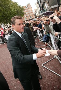 photo 53/133 - Matt Damon - Avant-Premi�re � Londres, le 15 ao�t 2007 - La Vengeance dans la Peau - © Paramount