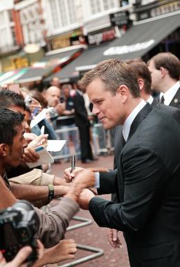 photo 51/133 - Matt Damon - Avant-Premi�re � Londres, le 15 ao�t 2007 - La Vengeance dans la Peau - © Paramount
