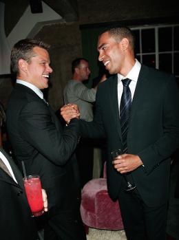 photo 107/133 - Matt Damon et Joey Ansah - Avant-Premi�re � Londres, le 15 ao�t 2007 - La Vengeance dans la Peau - © Paramount